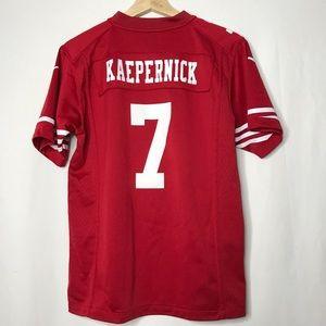 Nike San Francisco 49ers Red Kaep 7 Jersey Kids